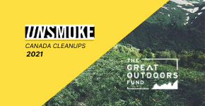 Now Accepting Grant Applications: Unsmoke Canada Cleanups Return for 2021